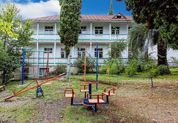 ostatak u hotelu Abkhazia