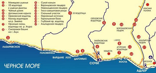 Adler Airport karta