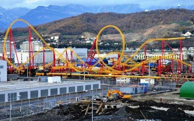 roller coaster u Adler