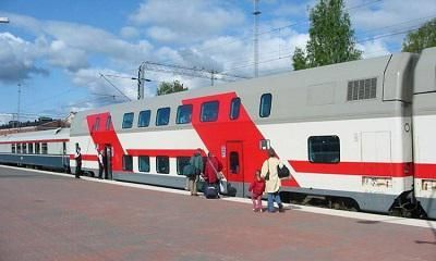 double-decker voz Moskva Adler