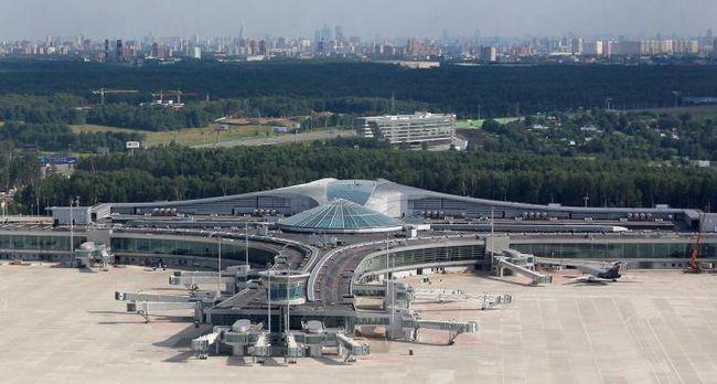 Adresa Sheremetyevo Airport. Terminali F, d, c