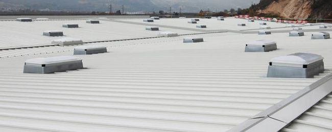 travnjake instalacija na krovu