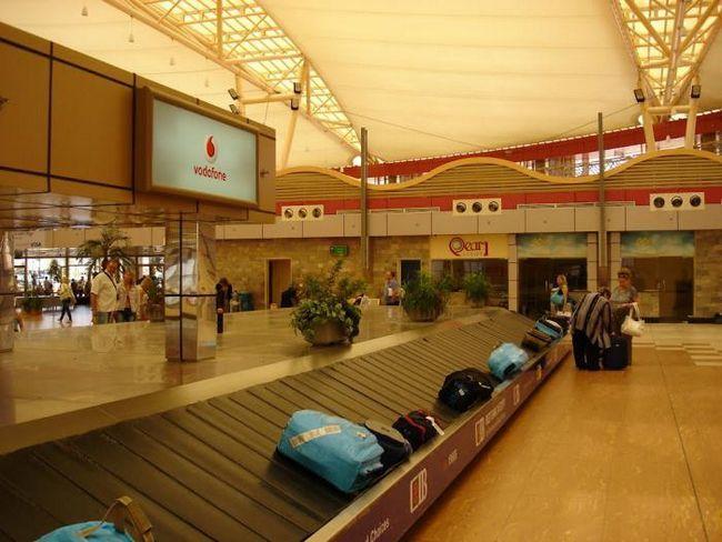 terminal za prtljagu