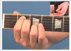 em7 akord na gitari