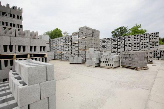 drva-betonskih blokova karakteristike