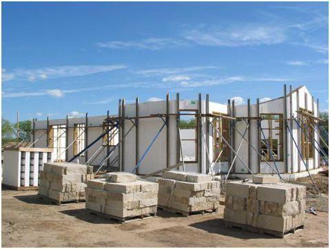Veličina drva-betonskih blokova