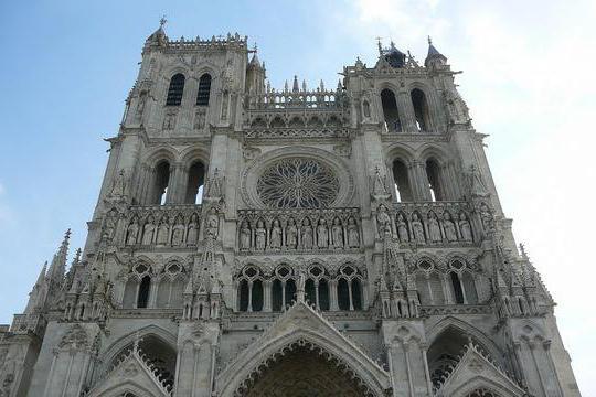 Архитектура и эстетические особенности амьенского собора