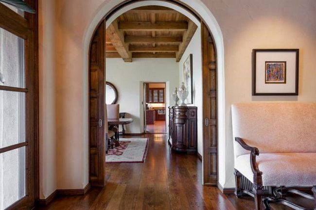 Lučni vrata - eleganciju i stil u unutrašnjosti