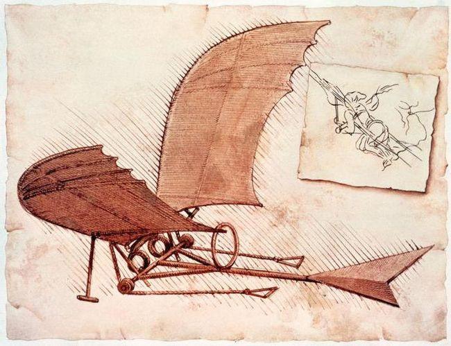 создатель первого в мире летательного аппарата
