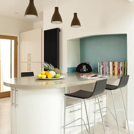 Барная стойка: размеры, фото. Стандартные размеры барной стойки на кухне