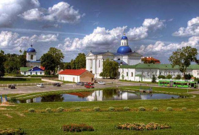 Белорусь, жировичи. Монастырь свято-успенский мужской