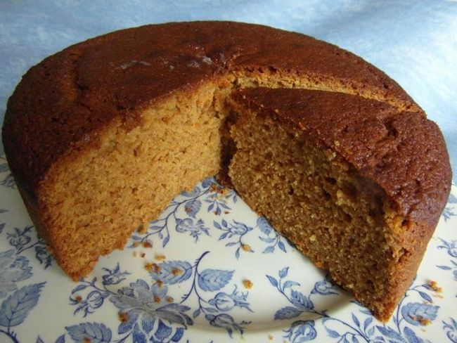gingerbread keksa torta