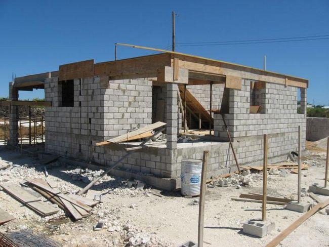 kuća betonski blok