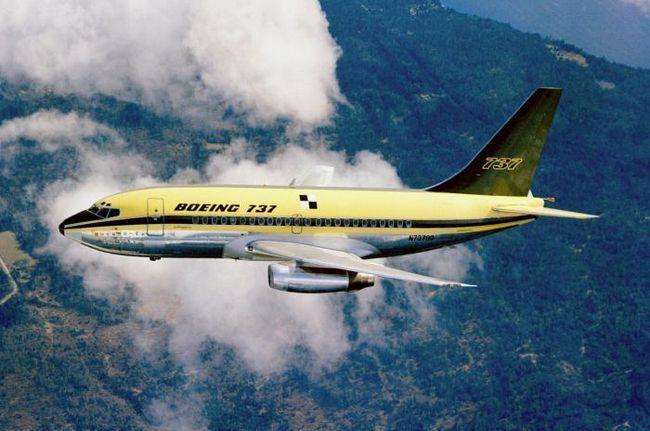 Boeing 737-500 salon