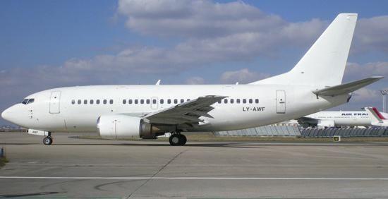 Boeing 737-500 fotografija