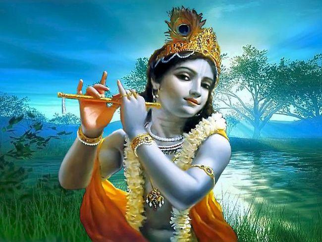 Lord Krishna. Koje je boje se uzima da predstavlja boga Krišne?