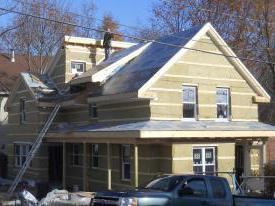izolirati krov drvene kuće