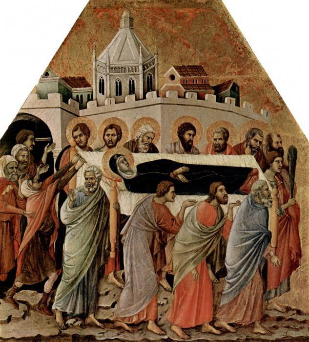 obred pokopa Blažene Djevice