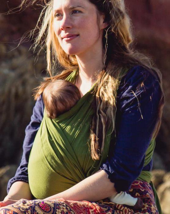 Что такое слинг-шарф. Намотка для новорожденных: