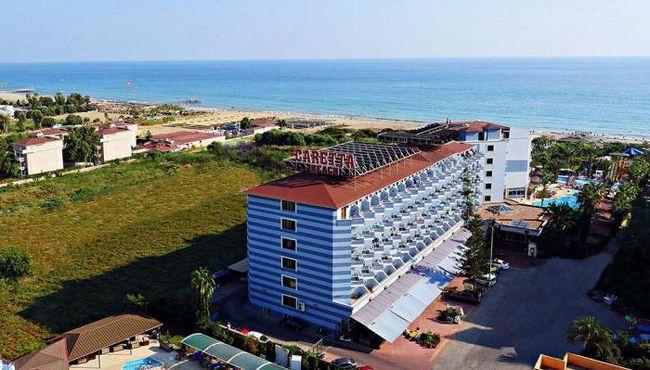 Club hotel caretta plaža 4 * (Turska, Alanya): recenzije, fotografije