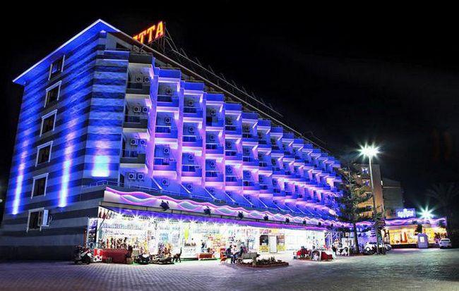 Club Hotel Caretta plaža 4 pureća recenzije