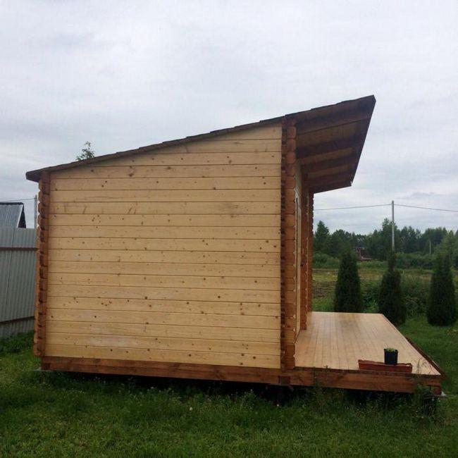 kabine winterized vikendice s verandom