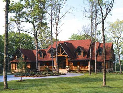 ladanjska kuća 6x4 sa potkrovljem i terasom