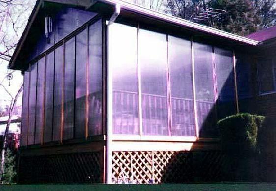 Fotografija trijem od polikarbonata