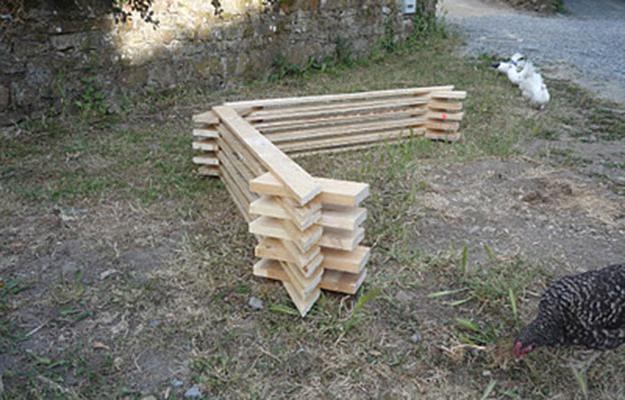 kako izgraditi drvenu staklenika