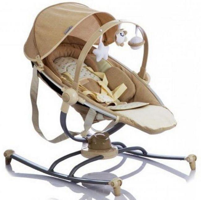 шезлонг для новорожденных жетем