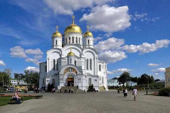 Diveevo: izvori. Sveta mjesta Rusija