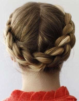 Длинная коса - девичья краса: корзинка - прическа на все случаи жизни