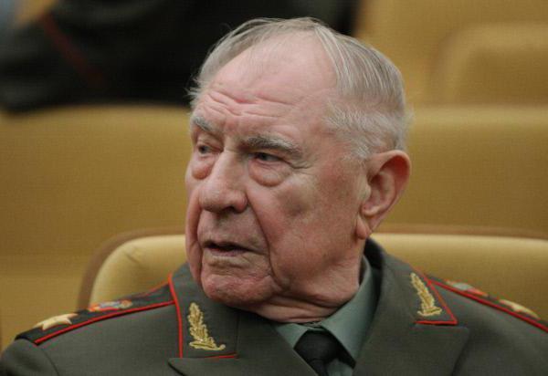 Yazov Dmitry Timofeevich Biografija