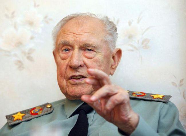 Dmitry Yazov prošle Marshal