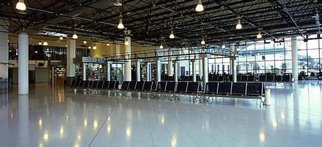 Dobrodošli na Aerodrom u Kišinjevu ispunjavaju putnike veknu sa solju