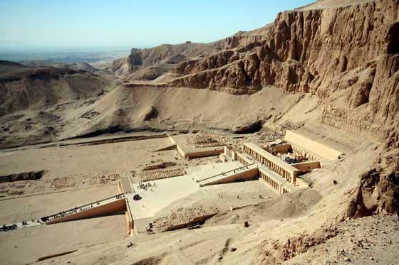 долина царей или долина фараонов