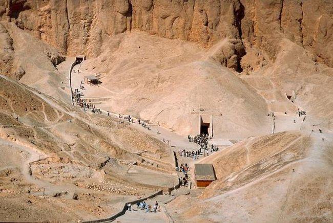 долина фараонов луксор