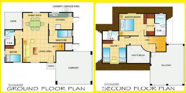 планировка дома 9 на 9