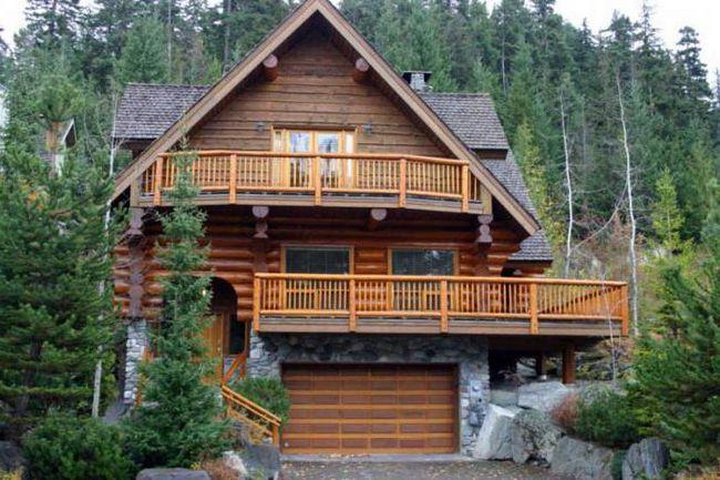 Kuća kedra: karakteristike, troškovi