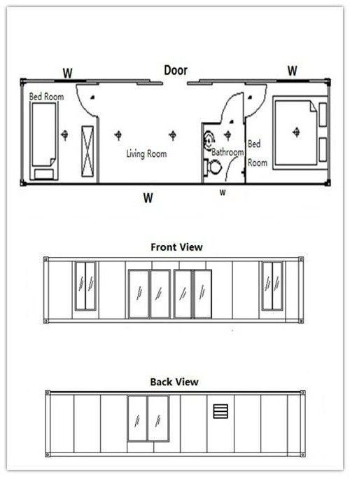 kuća dizajn sendvič panela