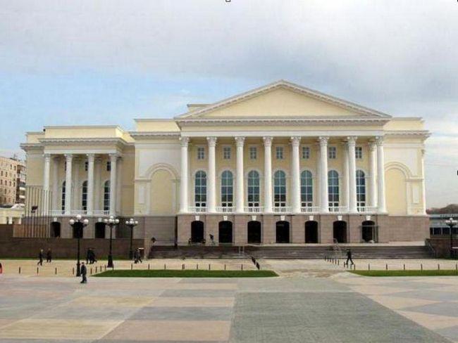 Tyumen dramsko pozorište: repertoaru družina povijest