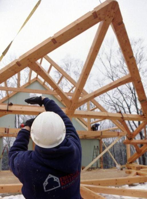 стропильная система двускатной крыши своими руками