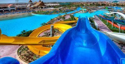 Najbolji hoteli u Egiptu, s vodenom parku