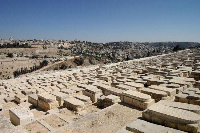 Елеонская гора Иерусалим