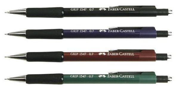 Faber Castell: карандаш механический для работы, учебы и творчества