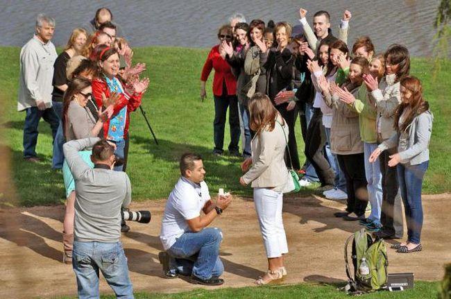 Flashmob za vjenčanje: najbolje ideje