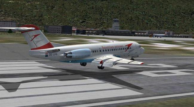 Fokker 100 avion