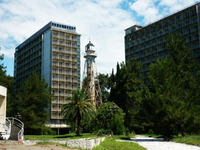 Abhazija Ldzaa hoteli