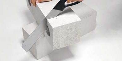 Izgradnja benzinske-betonskih blokova.