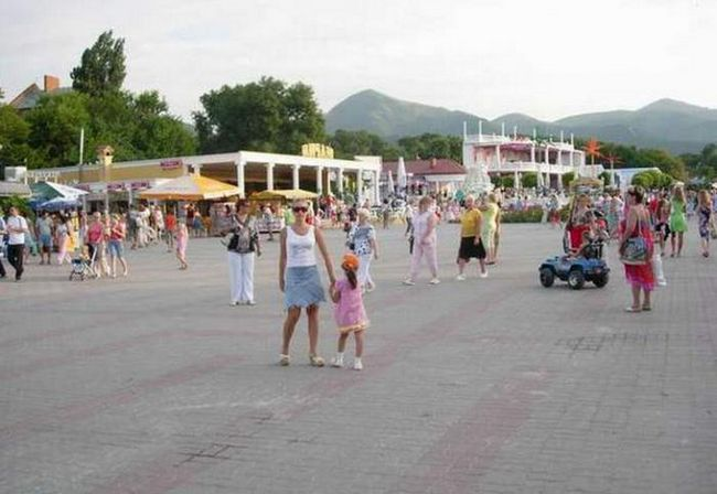 Kabardinka Mape Ulica